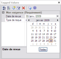 tagged value date