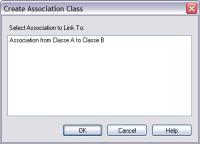 create association class - enterprise architect